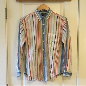 Lauren Ralph Lauren Petite Striped Shirt